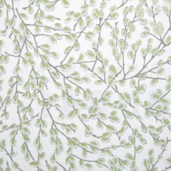 Willow Green Floral Wallpaper