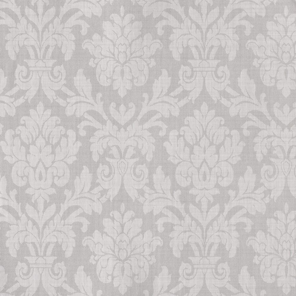 Grey damask wallpaper my blog for Grey patterned wallpaper