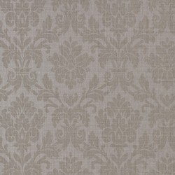 Beaune Pierre Taupe Damask Wallpaper