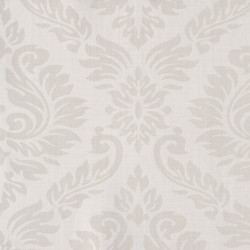 Magny Ivory Damask Wallpaper
