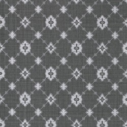 Toison Graphite Grey Trellis Wallpaper