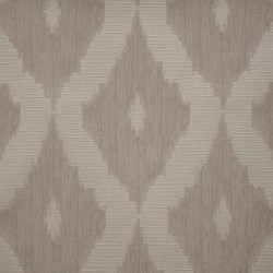 Kellys Ikat Brown Cream Wallpaper