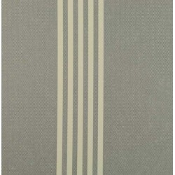 Oxford Stripe Charcoal Wallpaper