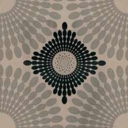 Starburst Gilver Black Wallpaper