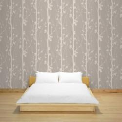 Solitude Brown Wallpaper
