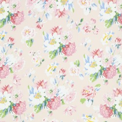 La Vie en Rose Beige Wallpaper