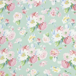 La Vie en Rose Mint Wallpaper