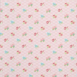 Losange Pink Wallpaper