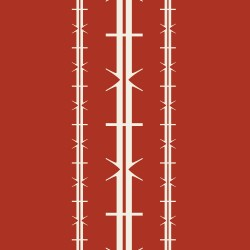 Bodoni No1A Red Wallpaper
