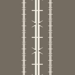 Bodoni No1A Grey Wallpaper