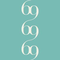 Bodoni No.6C Teal Green Wallpaper