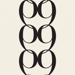 Bodoni No9A Black and White