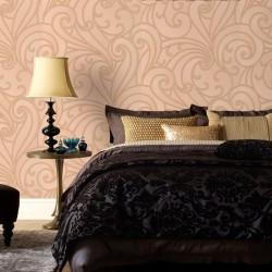 Saville Sand Yellow Wallpaper
