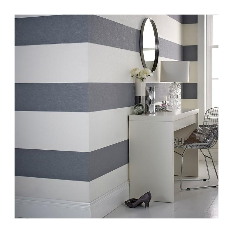 Glitz Grey Wallpaper Cream Wallpaper Julien Macdonald