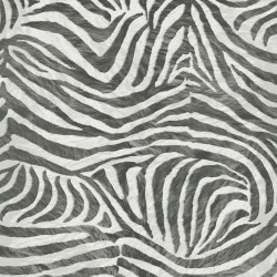 Zebra Skin Black and White Wallpaper