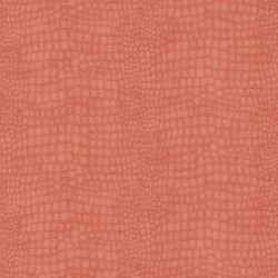 Crocodile Skin Coral Pink Wallpaper