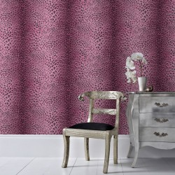 Leopard Skin Pink Wallpaper