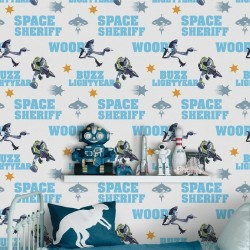 Toy Story Action Heroes Blue Wallpaper
