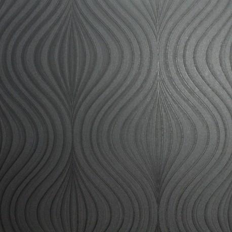 Zara black wallpaper graham brown zara black 31 589 for Wallpaper zara home