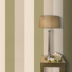 Figaro Green & Cream Wallpaper
