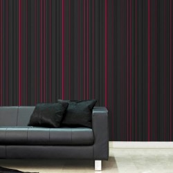 Marcel Wanders Maestro Stripe Black and Red