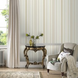 Marcel Wanders Maestro Stripe White and Gold