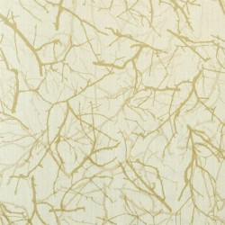 Feng Shui Gold Ivory Wallpaper