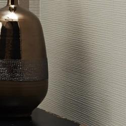 Linen Texture Taupe Brown Wallpaper