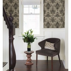 Andalusia Damask Black