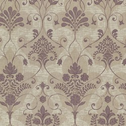 Andalusia Damask Amethyst Purple