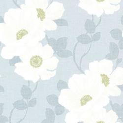 Lourdes Vintage Floral Blue