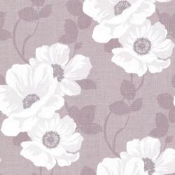 Lourdes Vintage Floral Purple