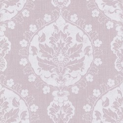 Lourdes Vintage Damask Purple