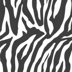 Ink Zebra Black and White