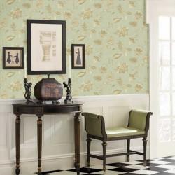Heritage Jacobean Green Vintage