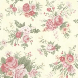 Rosa Maxwell Floral Green and Pink