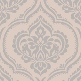 Ornamental Damask Taupe