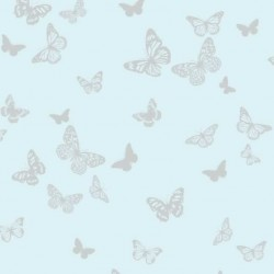 Butterfly Light Teal