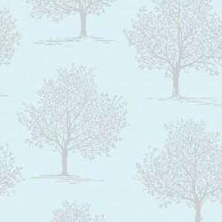 Trees Light Teal