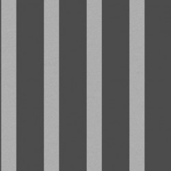 Stripe Charcoal and Silver