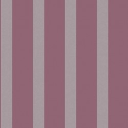 Stripe Plum Purple and Silver