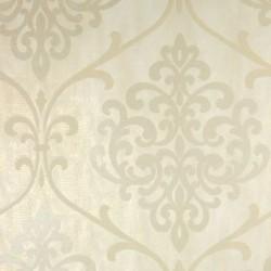 Ambrosia Glitter Damask Cream Gold