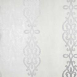 Anaconda Glitter Stripe White and Silver