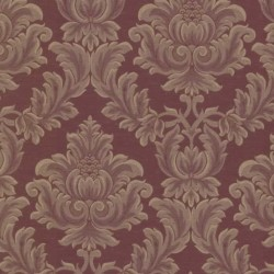 Oldham Damask Burgundy