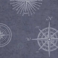 Nautical Navigate Blue