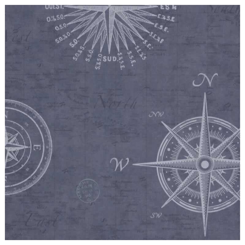 Art Décor: Buy Nautical Navigate Blue FD-FD21213 Sailor Chart