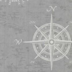 Nautical Navigate Grey