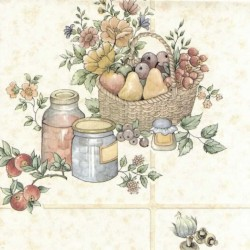 Tile Pots and Pans Cream