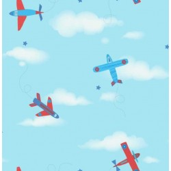Planes Sidewall Blue and Red