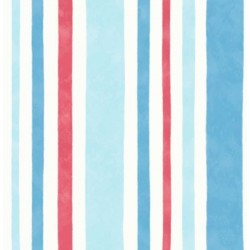 Wide Stripe Blue and Red